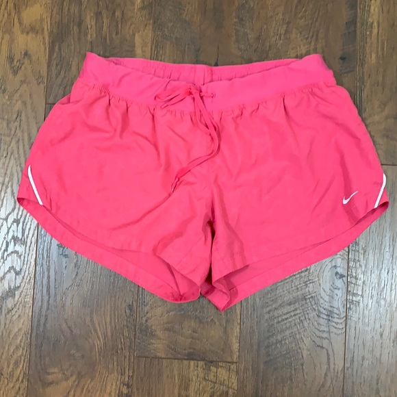 Nike Dri-Fit Pink Running Shorts